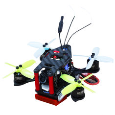 HSKRC IX2 90 90mm 2 Inch Micro FPV Racing RC Drone BNF w/ F4 BLHeli_S 20A Foxeer Arrow 600TVL Camera