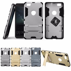 TPU+PC Hybrid Shockproof Stand Hard Case Cover For HUAWEI P8 Lite
