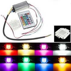20W RGB Chip Light Bulb Waterproof LED Driver Power Supply with Remote Controller