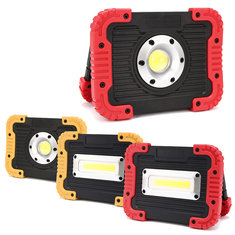 10W 750LM Outdoor Portable COB LED Flood Work Light USB Rechargeable Camping Tent Lantern