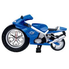 Creative Lazy Student Kids Cartoon Portable Clock Personality Bedroom Mini Clock Motorcycle Alarm Clock