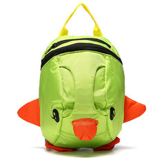 1-3 Years Old Kids Nylon Walking Safety Harness Backpack Cartoon Lovely Shoulder Bag