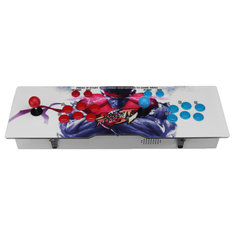 Metal Double Stick 680 Game 2 Player Arcade Game Console Machine