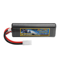 GIANT POWER 7.4V 5000mAh 50C 2S Lipo Battery With TAMIYA Plug For RC Model