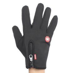 Touch Screen Windproof Winter Riding Outdoor Sports Full Finger Gloves