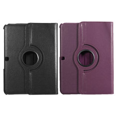 "PU Leather Case Folding Stand Cover For 10.1"" Samsung Galaxy Tab4 T530"