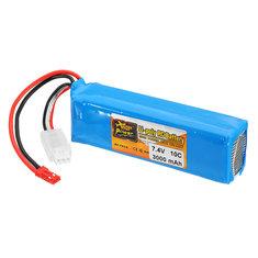 ZOP Power 7.4V 3000mah 10C Lipo Battery For Frsky Taranis X9D Plus Transmitter