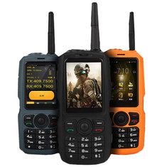 A17Сеть3GWI-FI2800mAhIP68 Водонепроницаемы Интерком Zello PTT Android GPS Bluetooth Feature Phone