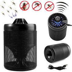LED UV Mosquito Killer Lamp Mosquito Dispeller Insect Lore Controller Catcher USB Powered 5V