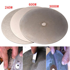 3pcs 6 Inch 240 600 3000 Grit Diamond Wheel Diamond Coated Diamond Grinding Disc Grinding Wheel