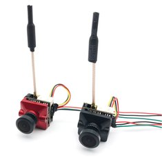 EWRF e7087U 5.8G 48CH Pitmode/25mW/100mW/200mW Adjustable VTX With CCD 700TVL 2.3mm/2.1mm FPV Camera