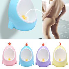 Lovely Colorful Baby Boys Urinal Toilet Trainer Wall Hang