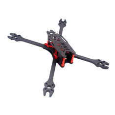 F2 Mito GS Carbon Fiber 195/220/250/275mm Freestyle Stretch X Frame Kit for RC FPV Racing Drone