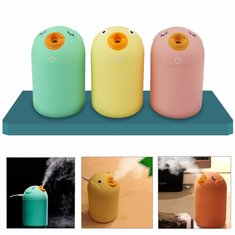 Portable USB Bird Shape Ultrasonic Humidifier Air Mist Maker Aroma Purifier Diffuser Nebuliser Steam