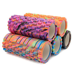 14x33cm Camo EVA Foam Yoga Roller Gym Fitness Physio Massage Trigger Point