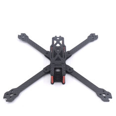 QL7 V2 7 Inch 295mm Wheelbase 4mm Arm Thickness 3K Carbon Fiber Freestyle Frame Kit for RC Drone