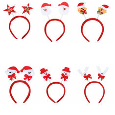 Festival Decor Christmas Headwear Mixed Style Xmas Headbrand Hair Accessory