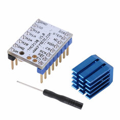 TMC2130 Stepper Motor Driver Module w/Heat Sink & Screwdriver For 3D Printer