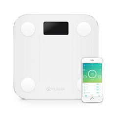 YUNMAI HaoQing Mini Smart Weighing Scale Digital Body Fat Electronic Balance Support Android And IOS Bluetooth