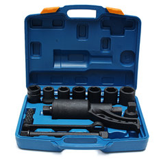 Torque Multiplier Wrench Lug Nuts Remover Labor Saving Spanner 8 Crv Socket Torque Wrench Tool Set