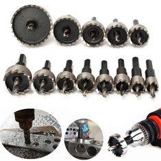 13pcs 16-53mm HSS Hole Saw Cutter 16/18/20/22/25/26/28/30/35/40/45/50/53mm Hole Saw Drill Bits Set