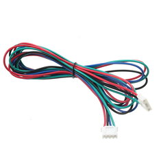 1M 4pin Stepper Motor Cable XH2.54 Male Compatible For 3D Printer