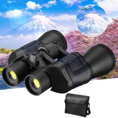 60x60 HD Binoculars 16 times Telescope Camping Hunting Folding Night Vision With Storage Bag