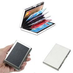 Waterproof Protection Aluminum Pocket Wallet Business Credit Card Portable Case