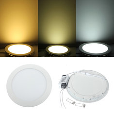 18W Round Ceiling Ultra Thin Panel LED Lamp Down Light Light 85-265V