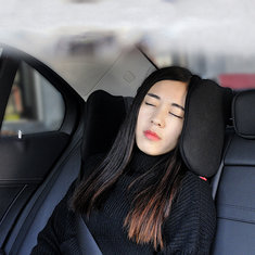 Rotated Ergonomic Car Seat Headrest Pillow Neck Rest Double Side Support Sleeping Cushion