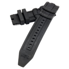 Replacement Black Rubber Watch Strap Band For Invicta Men's 6977 Pro Diver Collection