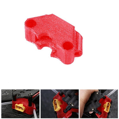 iFlight 3D Printed TPU RC Drone FPV XT60 Connector Fixed Mount for iFlight XL5 XL6 XL7 XL8 XL7S