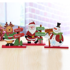 old man snowman elk christmas ornaments room table home decorations - Where To Buy Cheap Christmas Decorations
