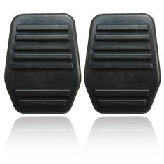 A Pair of Pedal Pads Rubber Cover For Ford Transit MK6 MK7 2000-2014 Black