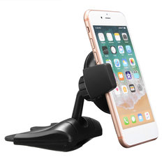 Qi Wireless Charger Car Charging CD Slot Holder Mount Stand for iPhone X 8/PLUS