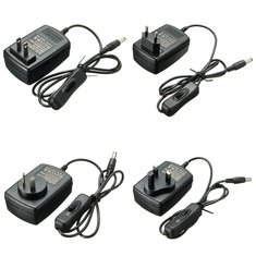 AC 100-240V To DC 12V 2A Power Supply Adapter Switch For Light LED Strip