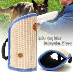 Jute Dog Bite Protection Arm Sleeve For Training Young Dogs Police Schutzhund