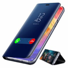 f26d203598d Bakeey™ Plating Mirror Window Shockproof Flip Full Cover Protective Case  for Xiaomi Redmi Note 7