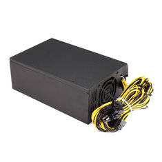 1800W PSU Miner Mining Power Cable Supply Mining Cion For Bitcoin Litecoin Antminer Machine