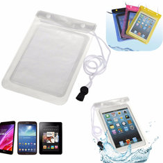 Waterproof Dry Bag Under Water Pouch Case Cover With Stripe For 7 inch Tablet Random Shipment