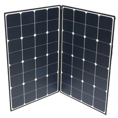 Elfeland® SP-22 160W Folding Portable Solar Panel With A Connector To Two MC4