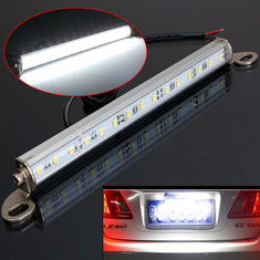 Car Van Truck Trailer 15 LED License Number Plate Light Bolt On Backup Lamp