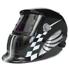 Racing Track Auto Darkening Welding Helmet Solar Welder Mask Electric Welding