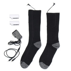 Battery Heated Socks Feet Foot Warm Electric Heater Shoe Boot Winter Hunting