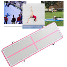 118x39x4inch Inflatable Air Tumbling Air Track Floor Home Gymnastics Tumbling Mat GYM