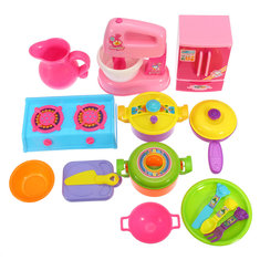 Baby Kid Developmental Educational Pretend Play Set Home Appliances Kitchen Toy