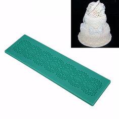 Lace Silicone Fondant Mold Cake Decorating Mould Gum Paste Sugarpaste Mold FDA LFGB