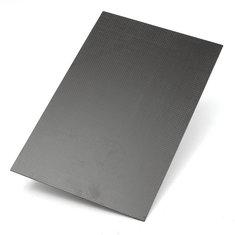 Suleve™ CF20302 3K 200×300×2mm Plain Weave Carbon Fiber Plate Panel Sheet