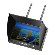Eachine LCD5802D 5802 5.8G 40CH 7 Inch FPV Monitor with DVR Build-in Battery