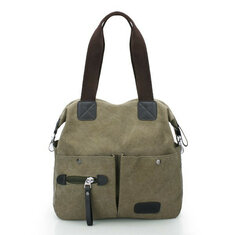 Ekphero Men Women Pillow Vintage Canvas Bag Shoulder Messenger Handbag
